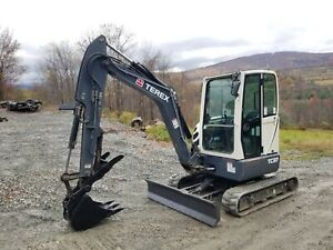 Kubota Kx71 3 Excavator Enclosed Cab Hydraulic Thumb New Tracks Ready To Work