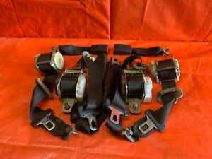 99 00 Honda Civic Si Em1 Complete Seat Belt Set Front And Rear Left Right Type K