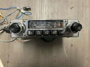 Panasonic Cr 1714 Eu Am fm Car Radio Head Unit old School Car Audio In Box