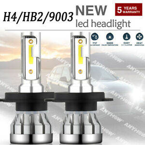 H4 Hb2 9003 2 sided Cree 5000w 936000lm Led Headlight Kit Hi lo Power Bulb 6500k