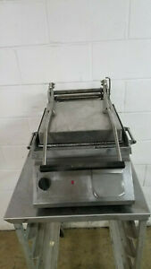 Star Pro max Commercial Panini Press Sandwich Grill 240 Volts 1 Phase Tested