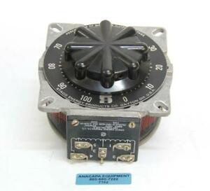 Staco Energy Products Type 2510 120v Variable Transformer Used 7182 R