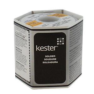 Kester Solder 44 Rosin Core Solder 60 40 050 1lb Spool New