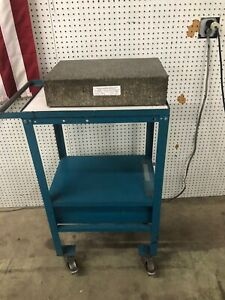 Rock Of Ages Granite Surface Plate W Stand