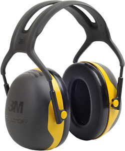 3m Peltor X2a Over the head Ear Muffs Noise Protection Nrr 24 Db Construction
