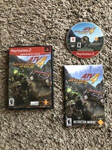 ATV Offroad Fury 4 for Playstation 2 PS2 Complete Fast Shipping!