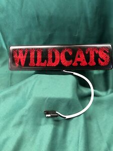 Reese Hitch Light Cover Towing Trailer Wildcats Nos