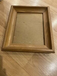 Vintage Mid Century Retro Wood Picture Frame From The 70 S 80 S 11 X13