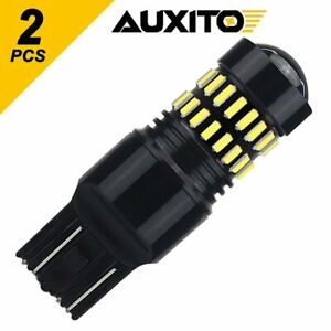 Auxito 7443 7440 Led White 6000k Reverse Turn Signal Drl Parking Light Bulbs Smd