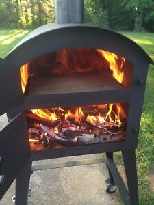 Wood Fired Pizza Oven Perfect For Food Truck Concession Trailer Outdoor Eats