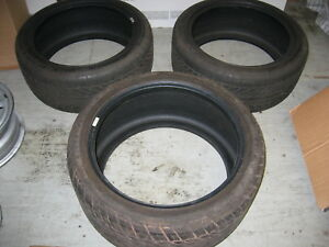 C6 Corvette Tire Goodyear Eagle F1 Emt 1 Rear 285 35 19