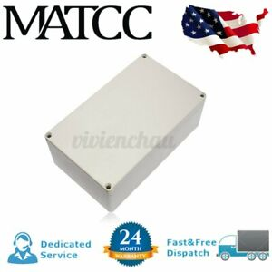 200x120x75mm Plastic Electrical Enclosure Project Box Board Waterproof Case Us