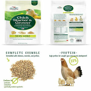 Manna Pro Chick Starter And Grower Non gmo 10 Lb