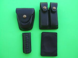 Police Utility Belt Items Leather