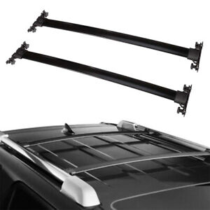 For 2008 2013 Toyota Highlander Roof Rack Cross Bars Luggage Carrier Aluminum