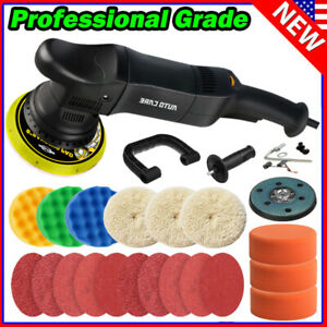 6 Dual Action Polisher Car Buffer Wax Sander Auto Detailing Polishing Machine