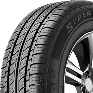 4 New Federal Super Steel 657 195 60r14 86h A s All Season Tires