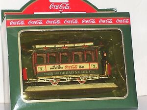 Townhouse Collection Coca Cola Old Number Seven Village Accessories Brand New