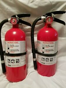 Kidde Pro Series 210 Rechargeable Fire Extinguisher 4 Lb 2 a 10 b c 2 pack