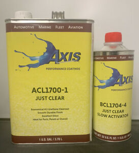 Axis Performance Clear Coat Kit Slow Fh613 Hardener quart similar To Fc720