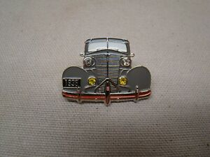 Gray 1938 Chevy Hat Pin 38 Master 85 Pin 38 Wagon Master Deluxe Panel Lapel Grey