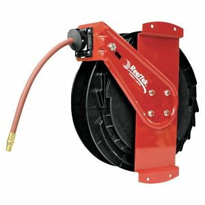 Reelcraft Air water Side Mount Retractable Hose Reel 3 8in X 50 ft