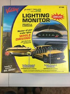 Valley Smart Trailer Wireless Lighting Monitor 37195 New