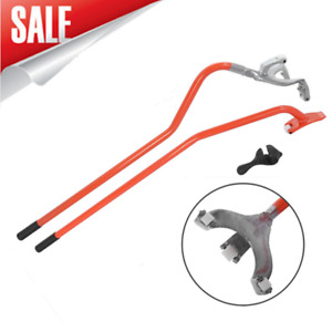 Tire Changer Steel Tire Mount Demount Tool Tools Tubeless Truck 17 5 To 24 Us