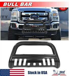 3 For 2011 2016 Ford F 250 F 350 F 450 Superduty Bull Bar Front Bumper Guard