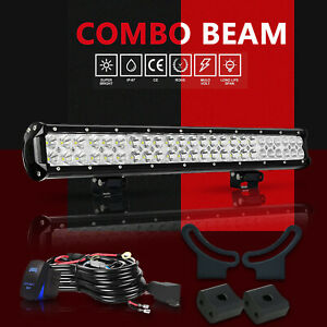 25 Led Light Bar For Skid Steer Loader New Holland Case John Deere Bobcat Gehl