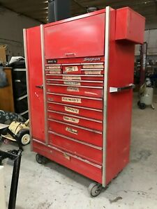 Snap On Large Red Tool Chest On Wheels Pick Up Only
