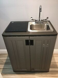 Portable Sink Mobile Rv Kitchen Cold Water Self Contained