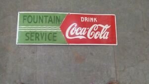VINTAGE Fountain coca cola 36