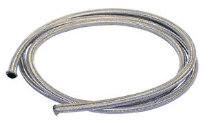 Vw Bug Air Cooled 5 Length Braided Stainless Steel Intake Fuel Line 1 4 I D