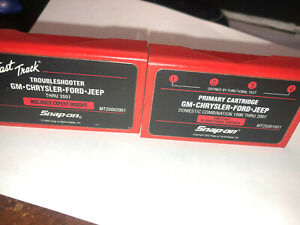 Snap On Scanner Primary Troubleshooter Cartridge Gm Chrysler Ford Jeep To 2001
