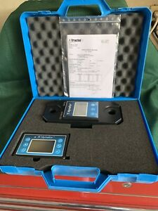 2 Ton Load Indicator Tractel Dynafor Llx1 With Remote Unit New Open Box
