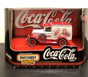 Matchbox Collectibles 1:43 Coca Cola 1930 Ford Model A Van New In Package