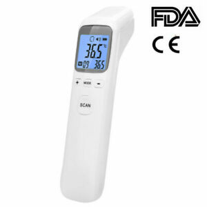 Medical Non contact Body Forehead Ir Infrared Laser Digital Thermometer Us