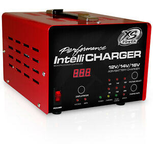 Xs Power Battery 12 16v Battery Charger Intellicharger Series P N 1005e