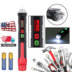 12 1000v Ncv Sensitivity Electrical Tester Pen Non contact Ac Voltage Detector