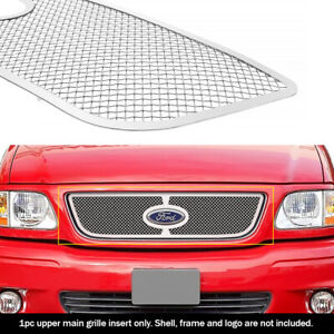 Fits 1999 2003 Ford F 150 harley Davidson lightning Main Stainless Mesh Grille