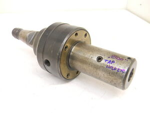 Used Devlieg Microbore Nmtb 40 Flash Change Tap Driver W coolant Ring Mb 38694