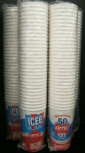 LOT OF 32 ICEE  AMC THEATRES  & COCA-COLA 44 OUNCE PAPER CUPS SEALED NEW! 2010