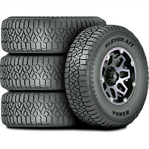 4 New Kenda Klever A T2 Lt 315 70r17 Load E 10 Ply At All Terrain Tires