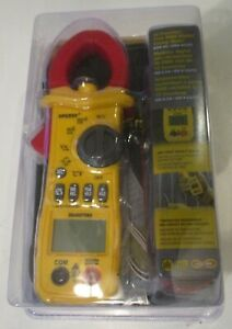 Sperry Instruments Digital Multimeter Dsa600trms 12 Function True Rms Clamp New