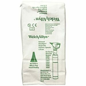 Welch Allyn Otoscope 4 25 Mm Disposable Ear Specula For Adult Pack Of 850