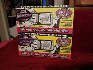 Pair Gently Used Slide Over Chevy Cipa Custom Towing Mirrors