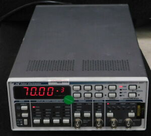 Tabor Electronics 8551 Function Pulse Generator Hp 8116a Prog Compatibility