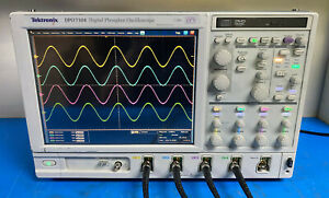 Tektronix Dpo7104 Digital Phosphor Oscilloscope 1ghz 20gs s W Ssd