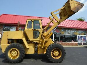 1986 Case W20c Wheel Loader